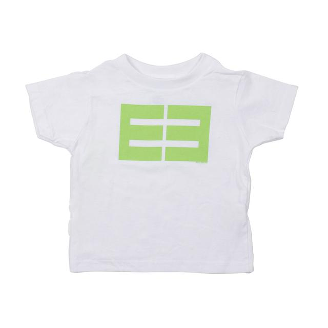 Emblem3 Block Logo White Toddler Tee