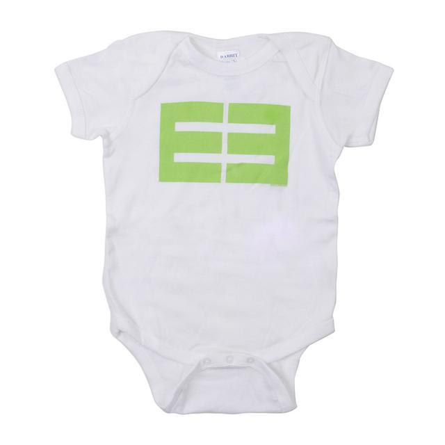 Emblem3 Block Logo White Onesie