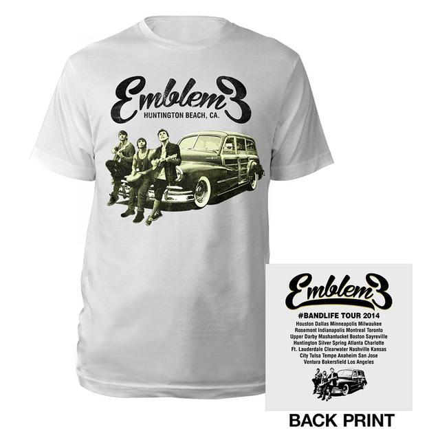 Emblem3 Car Photo  Tour Tee