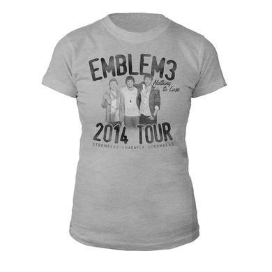 Emblem3 Nothing To Lose Girl's  Tour Tee