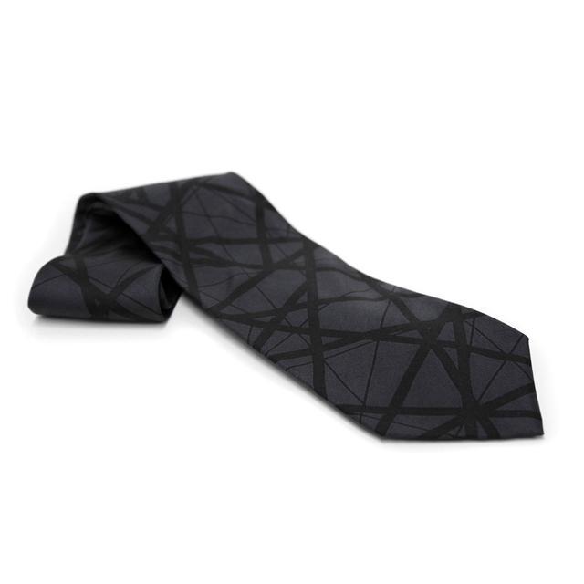 Eddie Van Halen Black Stripes Tie