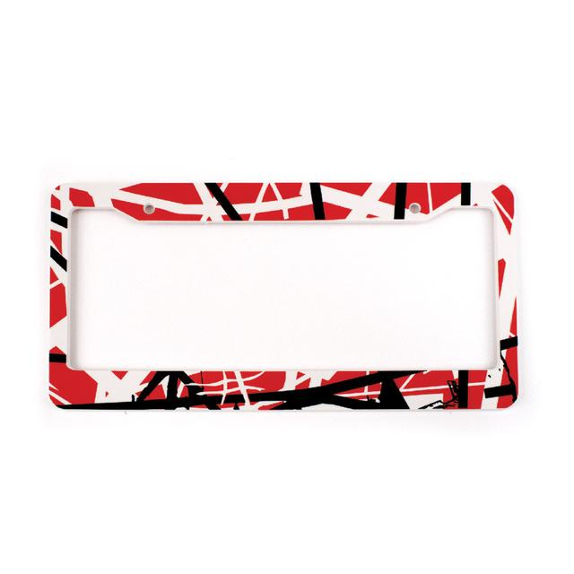 Eddie Van Halen Classic Stripes License Plate Cover