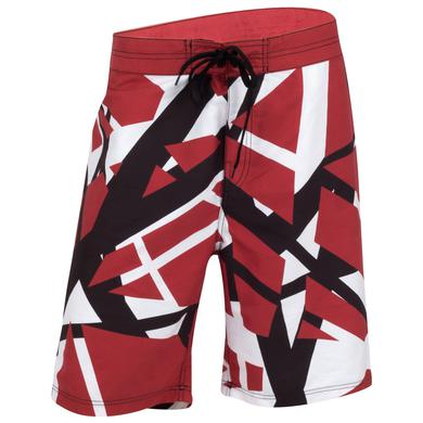 Eddie Van Halen Classic Stripes Board Shorts