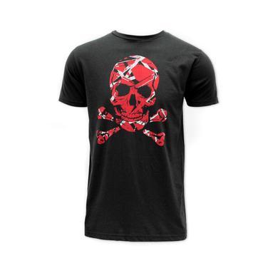 Eddie Van Halen Striped Skull Tee