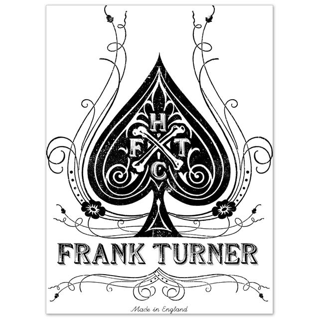 Frank Turner Lithograph