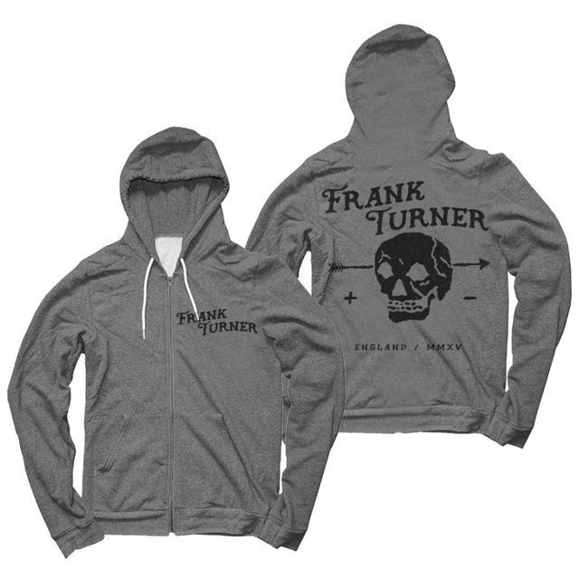 Frank Turner Skull Hoodie