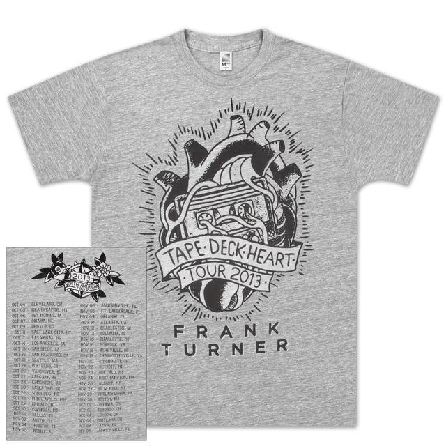 Frank Turner 2013 Tour T-Shirt