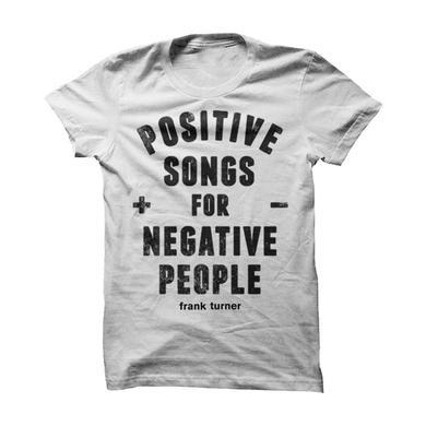 Frank Turner Postive / Negative T-Shirt