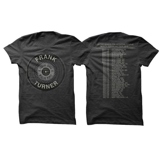 Frank Turner Vinyl Tour T-Shirt