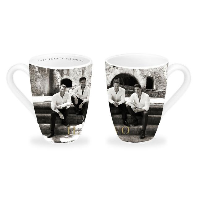 Il Divo B&W Photo 2016 White Mug