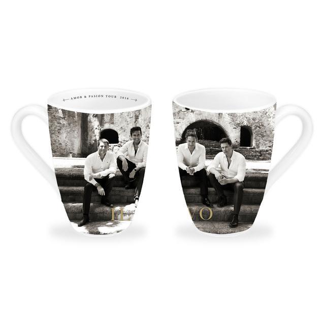 Il Divo B&W Photo 2016 White Mug