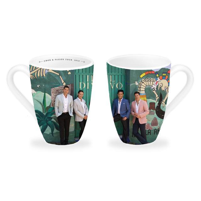 Il Divo Colour Photo 2016 White Mug