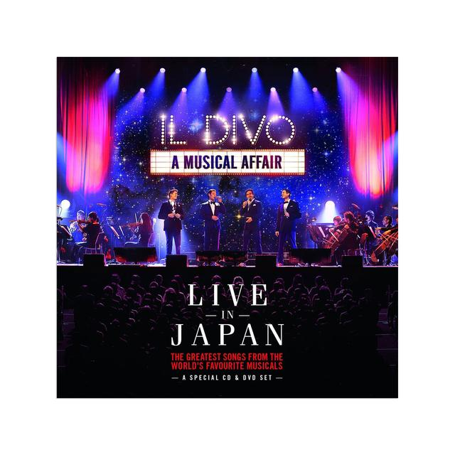 Il Divo Live In Japan DVD
