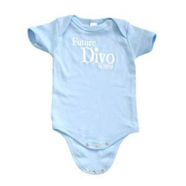 "Il Divo ""Future Divo"" Blue Babygrow"