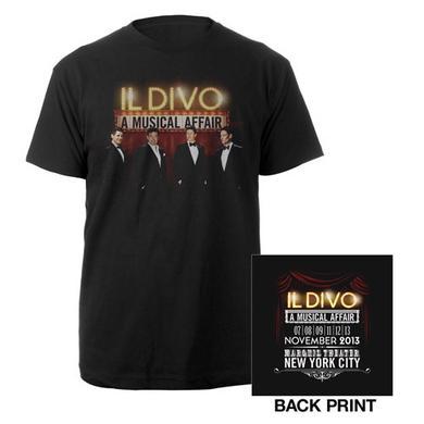 Il Divo A Musical Affair event shirt
