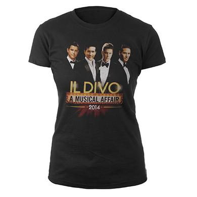 Il Divo A Musical Affair Tour 2014 women's shirt
