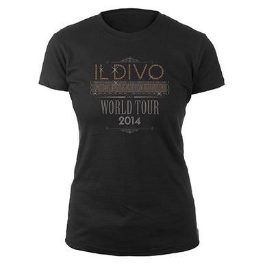 Il Divo Women's A Musical Affair Rhinestone 2014 Shirt