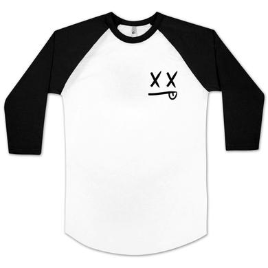 Modestep Smiley Raglan Baseball T-Shirt