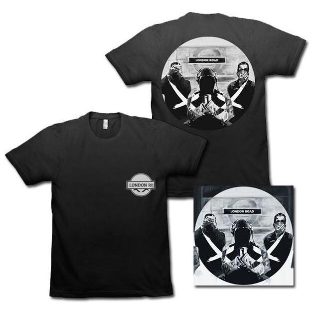 Modestep London Road CD + T-Shirt Bundle