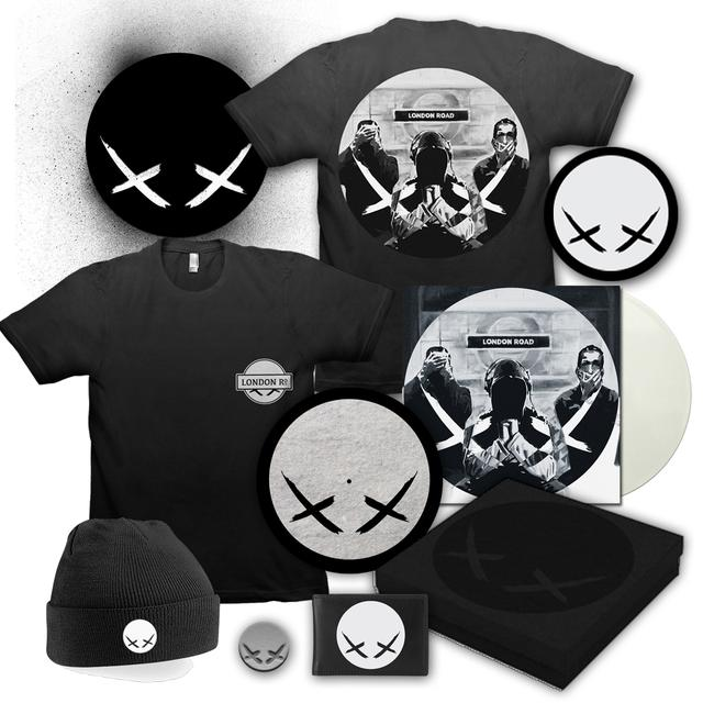 Modestep London Road Deluxe White Vinyl Box Set Bundle