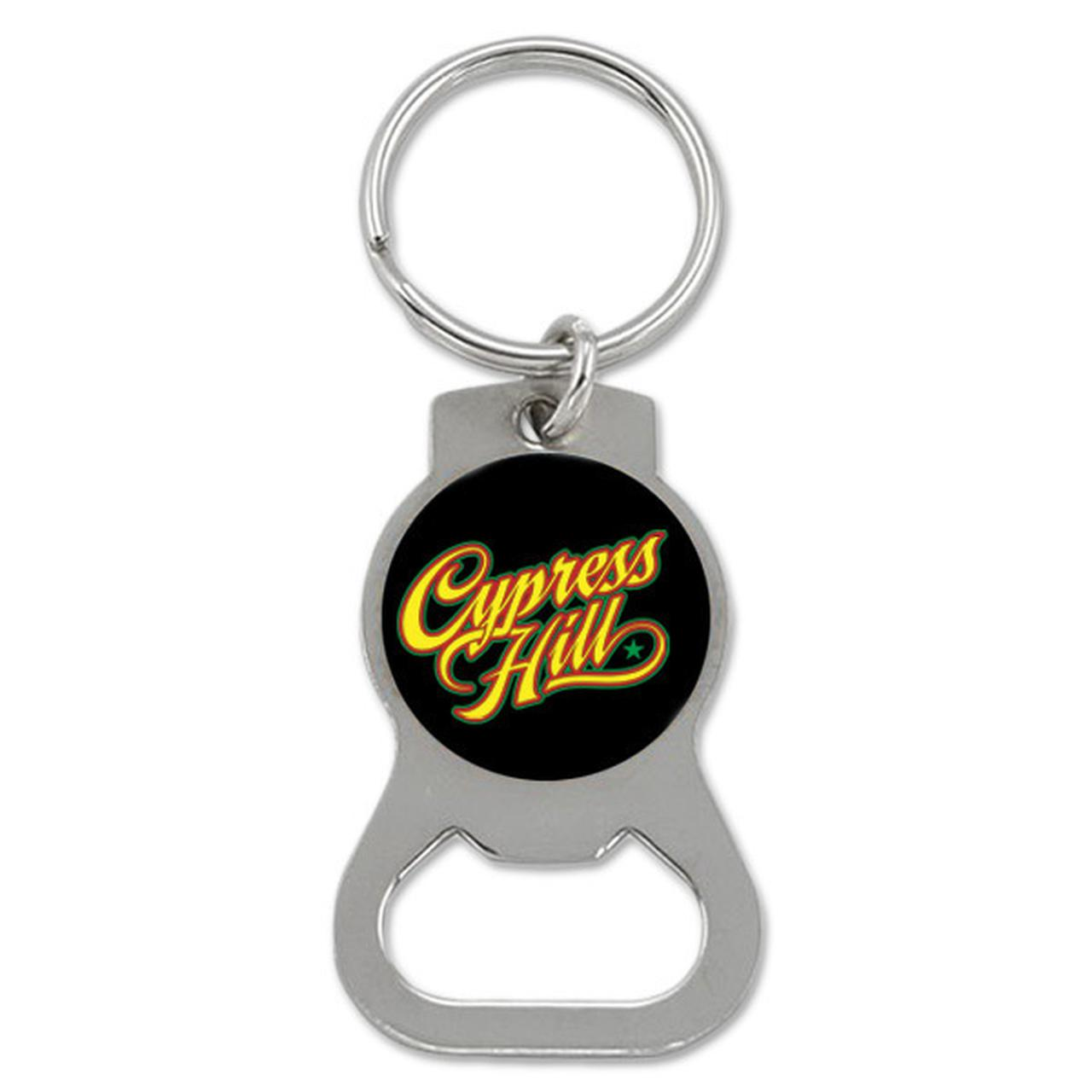 cypress hill script bottle opener keychain. Black Bedroom Furniture Sets. Home Design Ideas