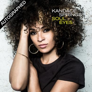 Blue Note KANDACE SPRINGS - SOUL EYES CD - AUTOGRAPHED