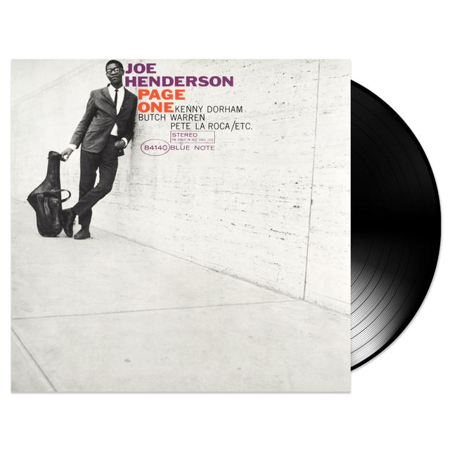 Blue Note Joe Henderson - Page One LP