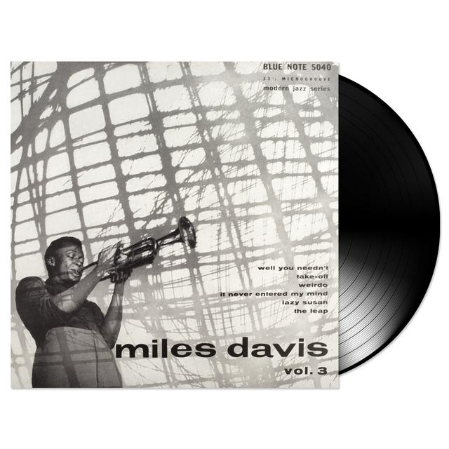 Blue Note Miles Davis - Vol. 3 LP (Vinyl)