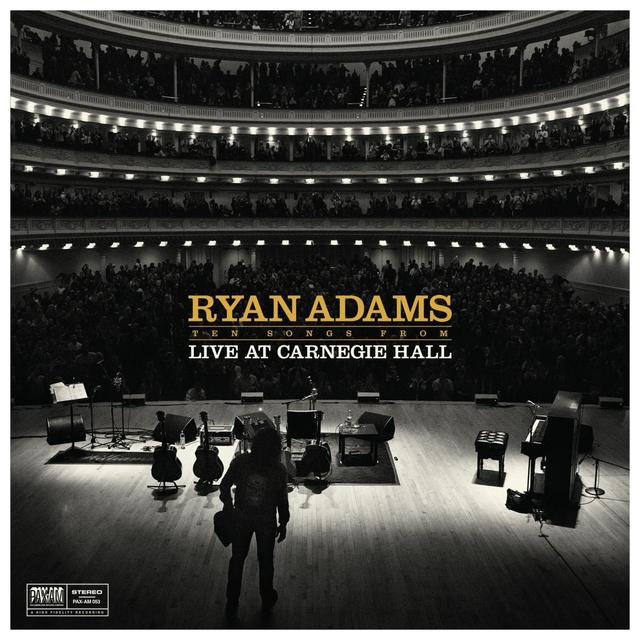 Blue Note Ryan Adams - 10 Songs from Live at Carnegie Hall Vinyl