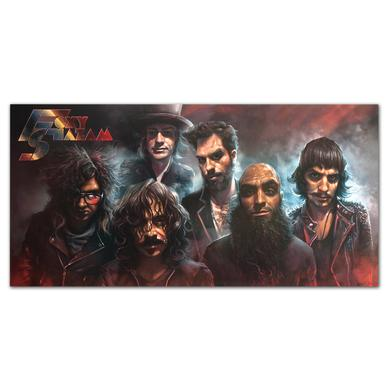 Foxy Shazam Band Shot Lithograph