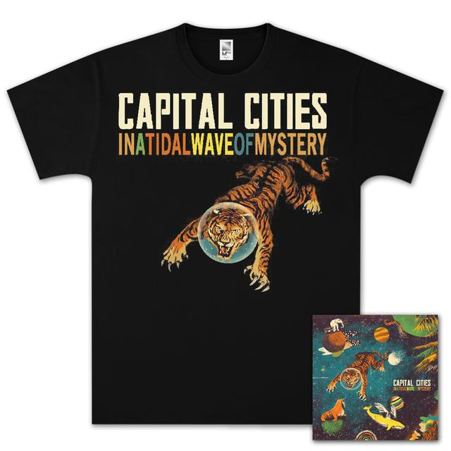Capital Cities In A Tidal Wave Of Mystery MP3 Bundle