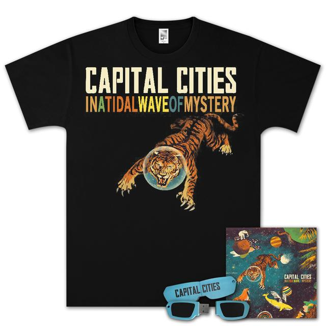 Capital Cities In A Tidal Wave Of Mystery USB/CD Bundle
