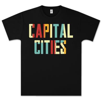 Capital Cities Block Letter T-Shirt