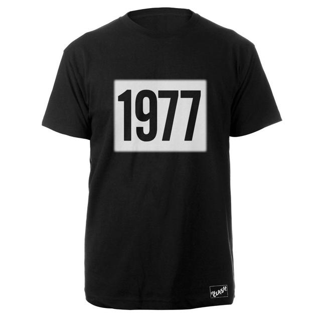 The Clash Blk 1977 T-shirt