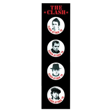 The Clash Badge Set 1