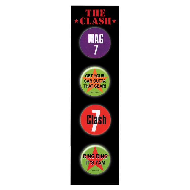 The Clash Badge Set 2