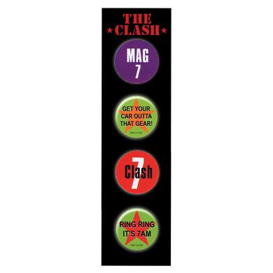 The Clash Badge Set 2