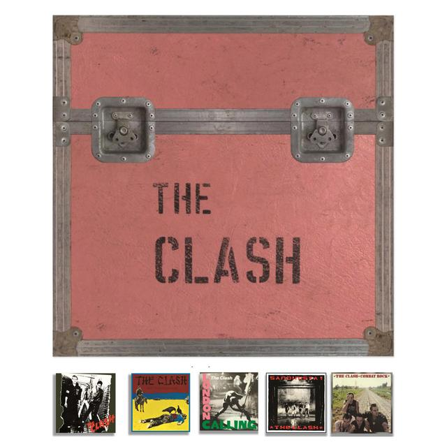 The Clash 5 Studio Album Set