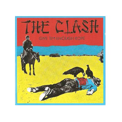 The Clash Give Em Enough Rope Poster