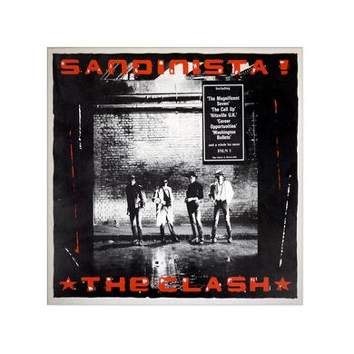 The Clash Sandinista! Poster