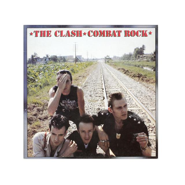The Clash Combat Rock Poster
