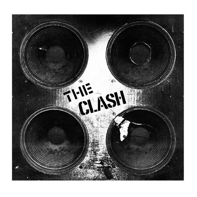 The Clash Exclusive Speaker Screenprint