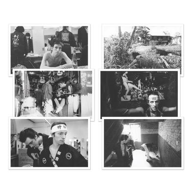 The Clash Set of 6 Postcards