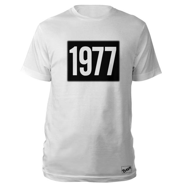 The Clash Wht 1977 T-shirt