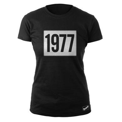 The Clash Blk 1977 Ladies T-shirt