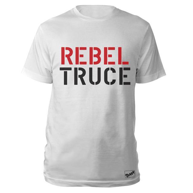 The Clash Wht Rebel Truce T-shirt