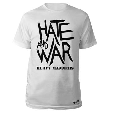 The Clash Wht Hate & War T-shirt