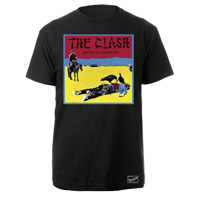 The Clash Give Em' Enough Rope Album Tee
