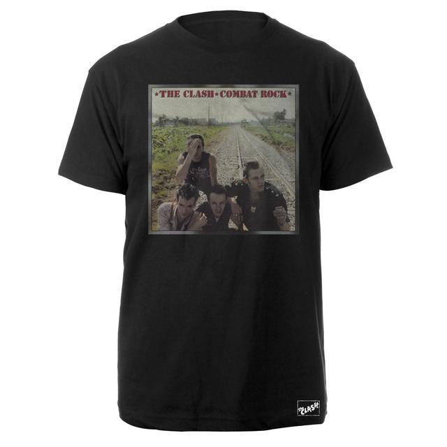 The Clash Combat Rock Album Tee