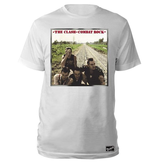 The Clash Combat Rock Album Tee